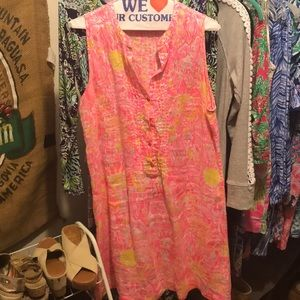 Lilly Pulitzer dress with suns on them!